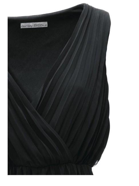 5c51ca218922 Čierne žoržetové šaty - Violettemoda.sk