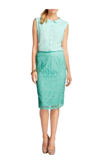 26874008e2fc Čipkovaná sukňa APART - Sukne