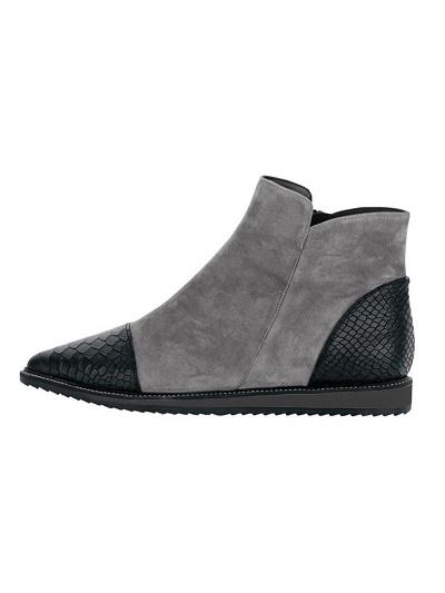 Extravagantné kožené topánky HEINE - Violettemoda.sk 63c8954dca4