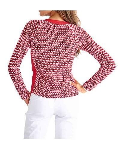 594b146bd614 Pletený sveter na zips HEINE - B.C. - Violettemoda.sk