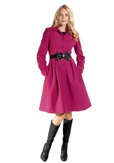 Dámsky elegantný kabát - Violettemoda.sk 9c8412f602b