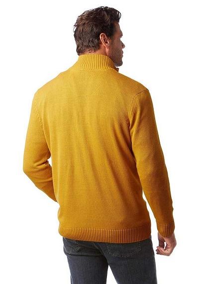 a6b9f5d9e8e2 Pánsky žltý pulóver Man´s World - Violettemoda.sk