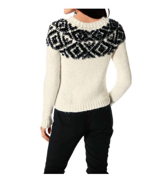 2bfd305e9535 Pulover s nórskym vzorom