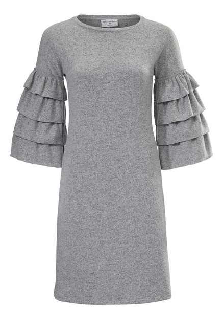 Pletené šaty s volánmi Rick Cardona 390ace664fa