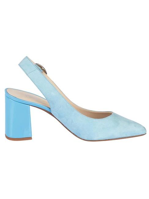 567acedad330e Semišové topánky Heine, svetlo-modrá - Violettemoda.sk