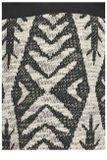 Džersej nohavice Billabong, čierno-biele