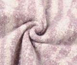 Šál so zebrovaným vzorom, svetlo-fialová