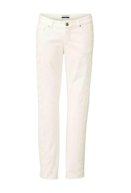 Biele džínsy s čipkou Guido Maria Kretschmer