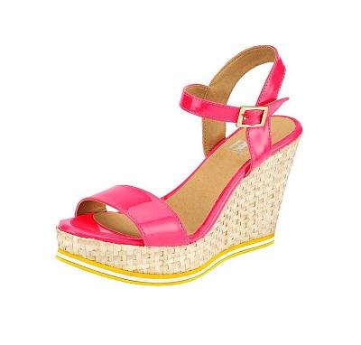 bef4a7e48616 Dámske sandále na platforme HEINE