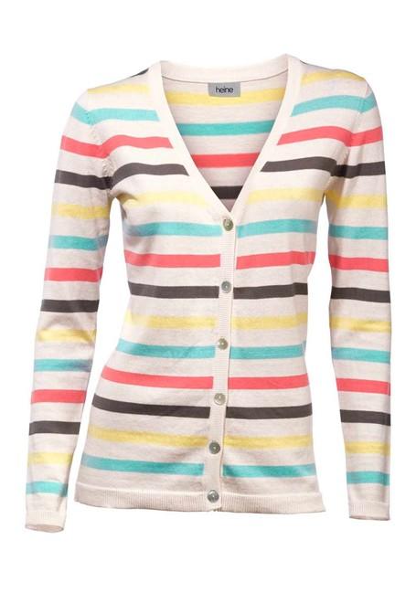 Dámsky sveter s pásikmi HEINE