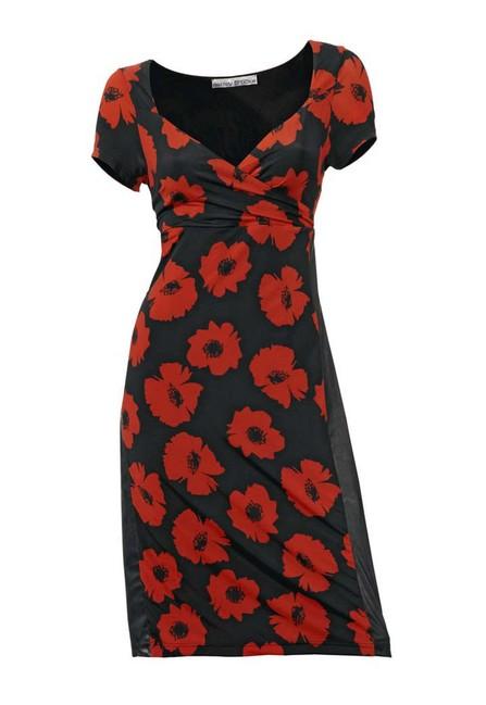 Extravagantné šaty s kvetmi HEINE - Violettemoda.sk 8c041c29199