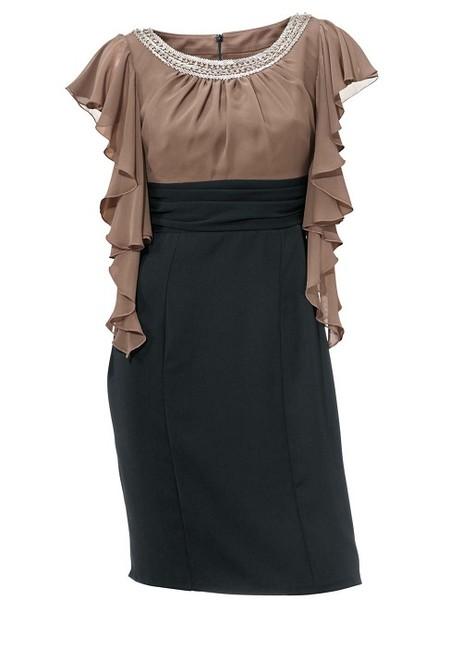 Kokteilové šaty s volánmi Ashley Brooke - Violettemoda.sk db551df7d34