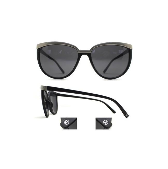 5234fb1f9 KW slnečné okuliare Ženeva - v matnej čiernej farbe - Violettemoda.sk