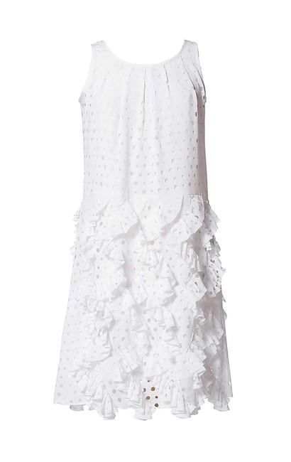 f2101f2a3abf Letné biele šaty APART - biela - 36