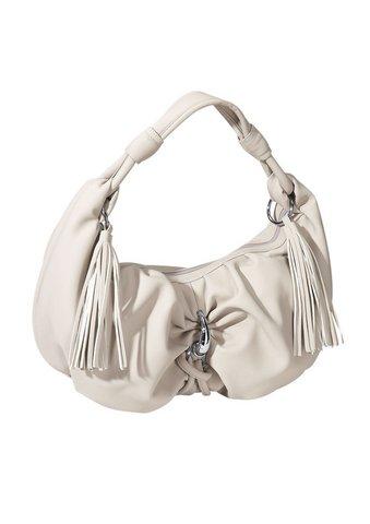 Dámska kabelka - sivobéžová