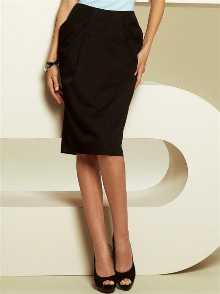 Dámska sukňa APART - čierna - 40