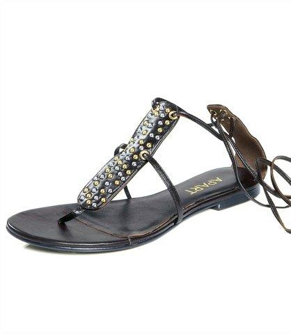 Dámske sandále APART - hnedá - 37