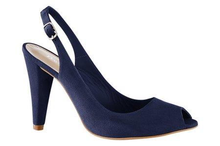 Dámske sandále B.C - modrá - 40