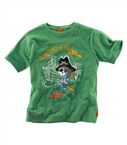 Detské tričko - zelená - 164