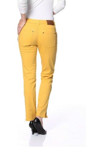 Dámske nohavice Tamaris - žltá - 18(36)