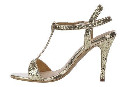 Dámske sandále B.C. - zlatá - 37