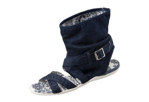 Dámske sandále MY WAY - modrá - 40