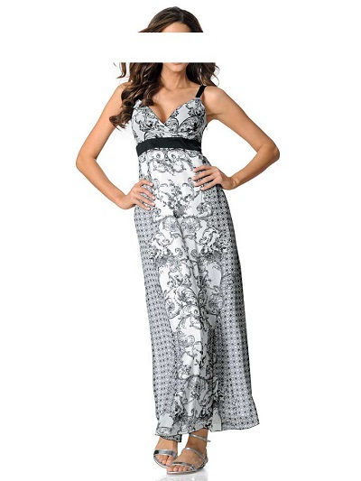 Dámske šaty Patrizia Dini - čierno – biela - 40