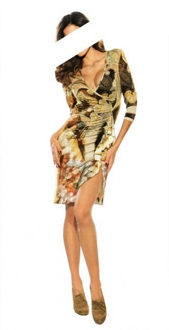 Dámske šaty Z by Zucchero - viacfarebná - 42
