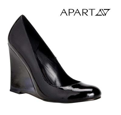 Dámske topánky APART - čierna - 38