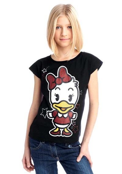 Detské tričko Disney - čierna - 164/170
