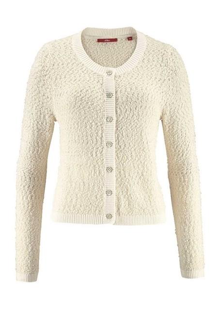 Pletený buklé sveter S. Oliver