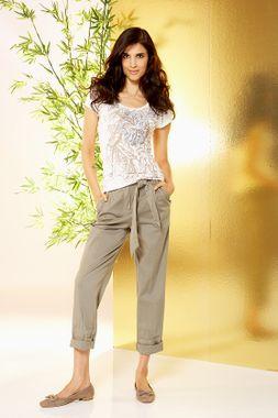 Sivobéžové chino nohavice APART