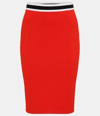 APART džersejová sukňa, oranžová