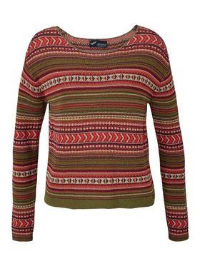 ARIZONA sveter, khaki-farebný
