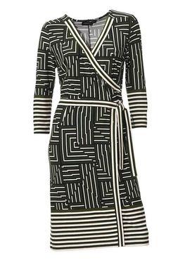 Atraktívne zavinovacie šaty Patrizia Dini