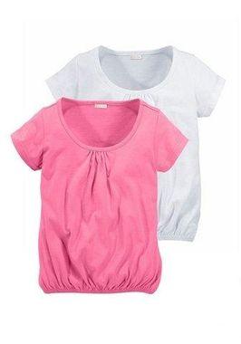 Bavlnené tričká 2 ks PETITE FLEUR