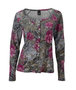 Bavlnený kvetinový sveter Heine