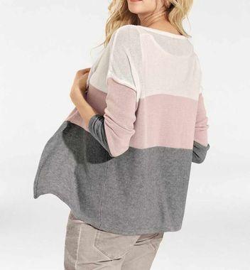 Bavlnený twinset Heine , sivo - ružový