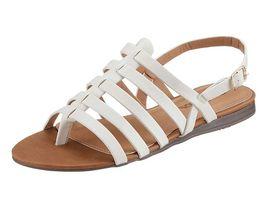 Biele pohodlné sandále City Walk