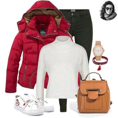 Červená páperka a zelené džínsy