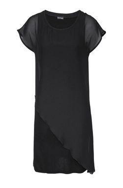 Čierne šaty s vlečkou Bruno Banani