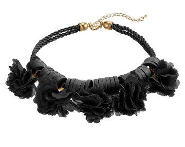 Čierny náhrdelník HEINE