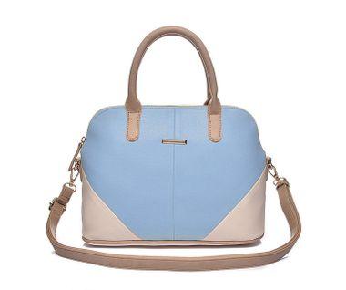 Dámska kabelka INTRIGUE, modro-kremová