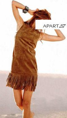 Dámske kožené šaty APART