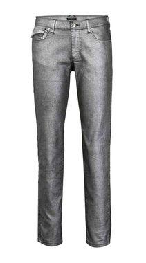Dámske strieborné džínsy APART