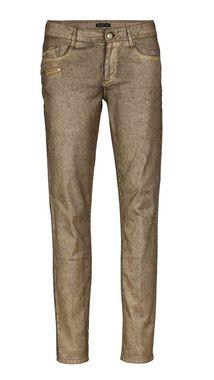 Dámske zlaté džínsy APART