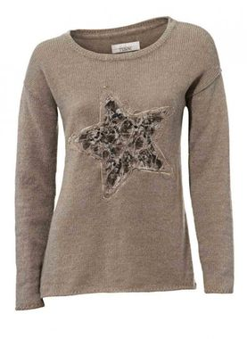 Dámsky pulóver s hviezdou Linea Tesini