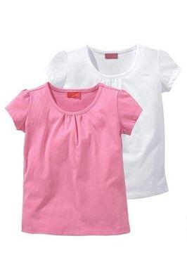 Dievčenské tričká s krátkym rukávom 2 ks CFL