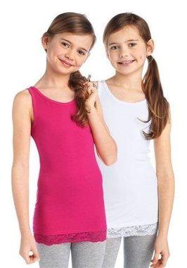 Dievčenský top s čipkou 2 ks CFL