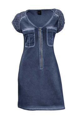 Elastické šaty s čipkou HEINE - B.C.